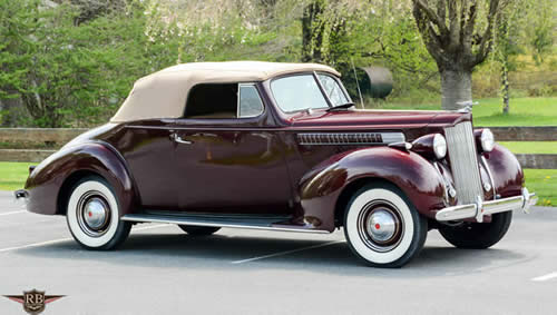 1939 Packard 110 Convertible