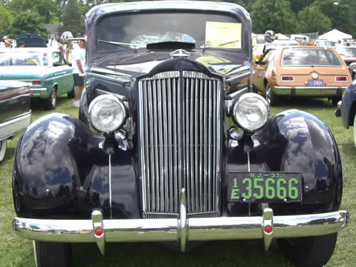 1937 Packard 115C 1802 Touring Sedan