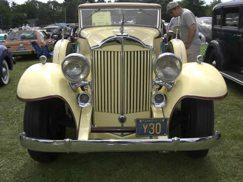 1933 Packard Coupe Roadster 1004