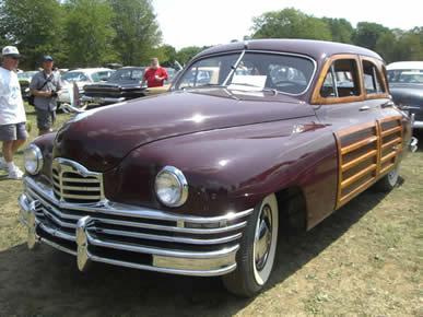 1950 Packard Woodie