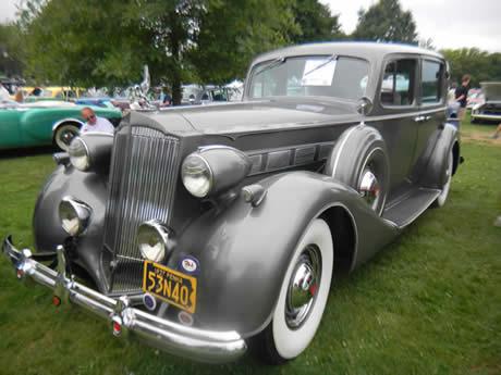 1937 Packard Super 8 Club Sedan