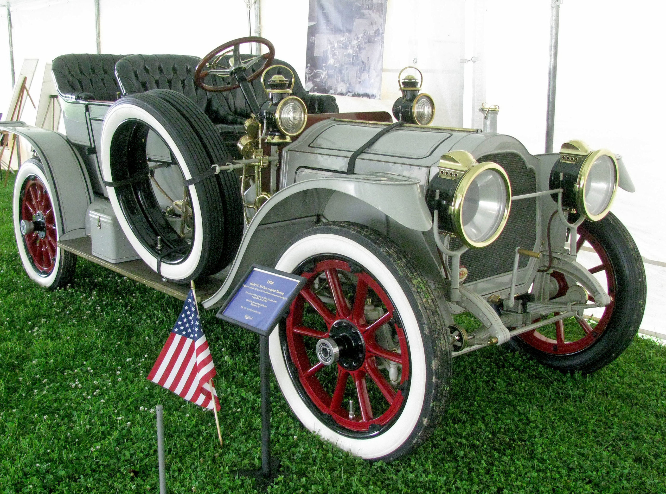 1910 Packard Model U-C Touring