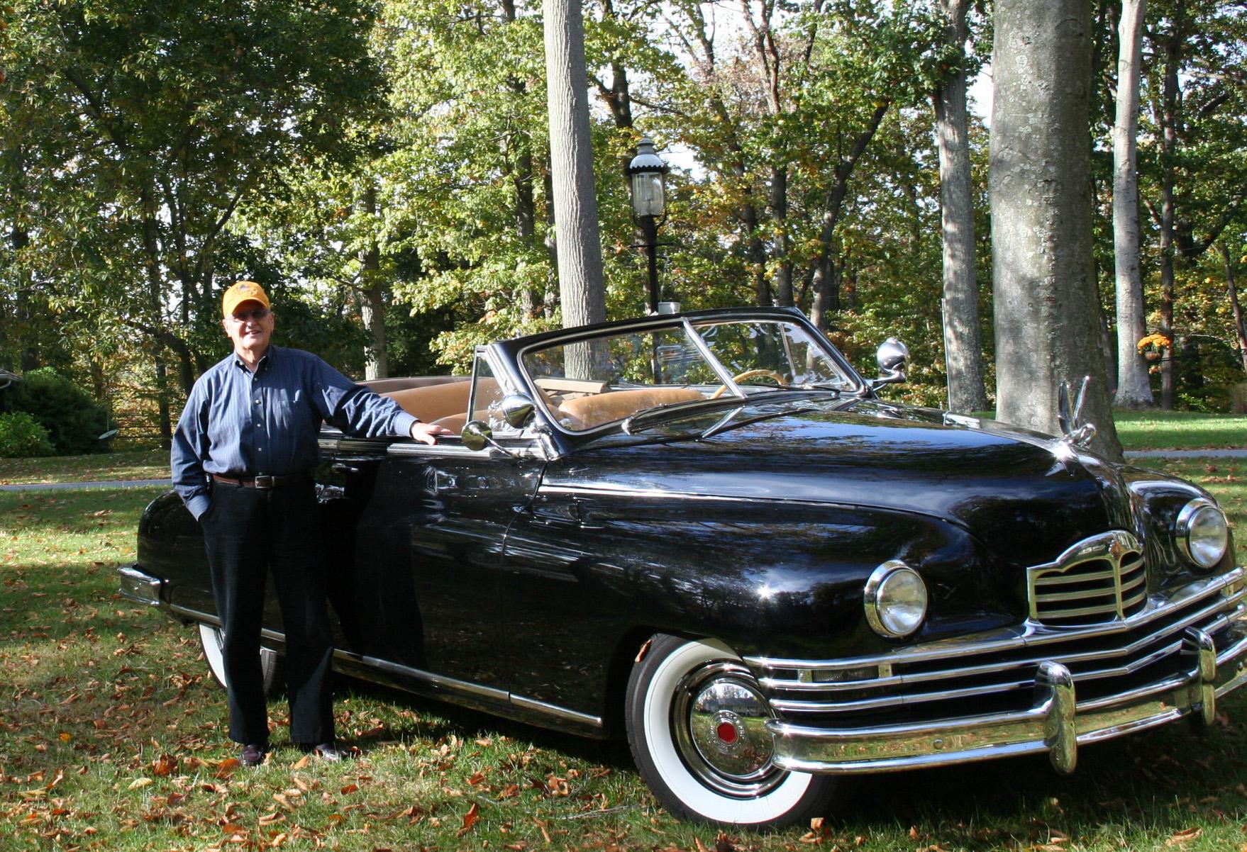 1949 Packard Super Eight Convertible Victoria
