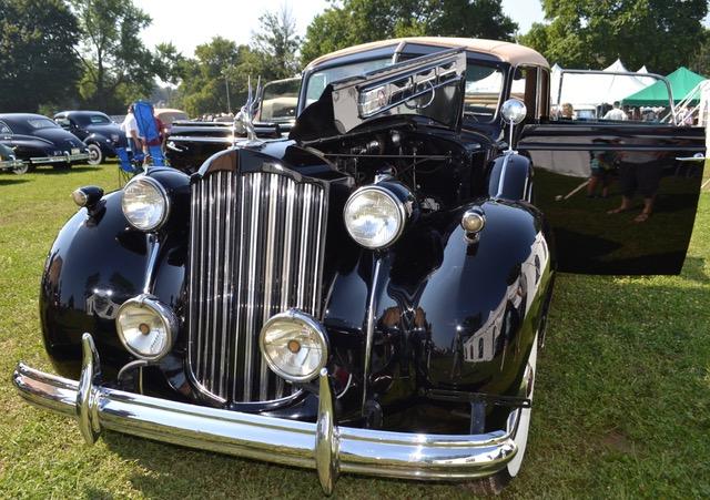 1939 Packard 1708 1235 Brunn Limousine