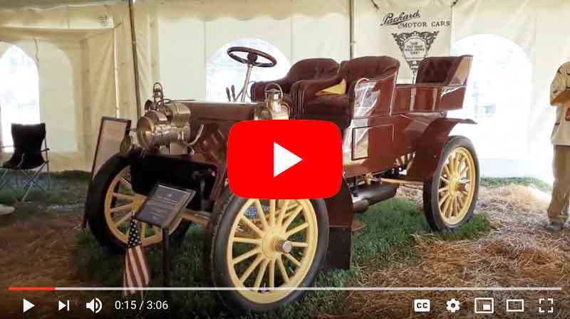 1902 Packard Model F Detachable Tonneau